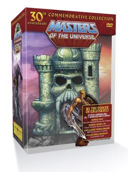 MASTERS OF THE UNIVERSE 30TH ANNIVERSARY DVD COLLECTION
