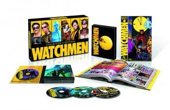 WATCHMEN ULTIMATE CUT BD + DVD + GRAPHIC NOVEL