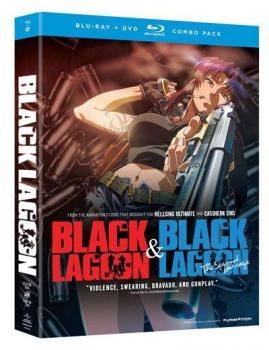 Black Lagoon Complete Collection S.1 and S.2 Blu-Ray/DVD Combo