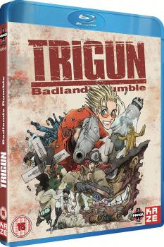 Trigun Movie Badlands Rumble Blu-ray UK