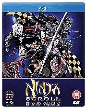 Ninja Scroll The movie Blu-Ray+DVD UK