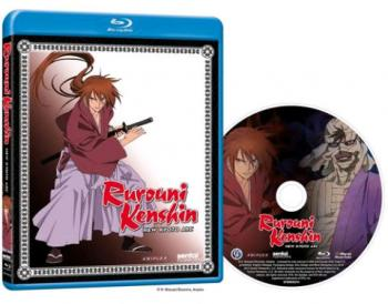 Kenshin New Kyoto Arc Blu-Ray