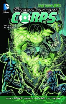 GREEN LANTERN CORPS HC VOL 02 ALPHA WAR (N52)