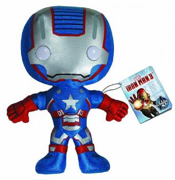IRON MAN 3 IRON PATRIOT 7 INCH PLUSH