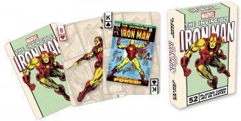 MARVEL COMICS PLAYING CARDS INVINCIBLE IRON MAN