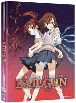 Certain Scientific Railgun Season 01 Part 01 DVD Box Set