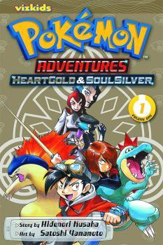 Pokemon Adventures Heart Gold Soul Silver vol 01 GN