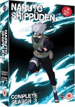 Naruto Shippuden - Complete Collection 03 DVD UK