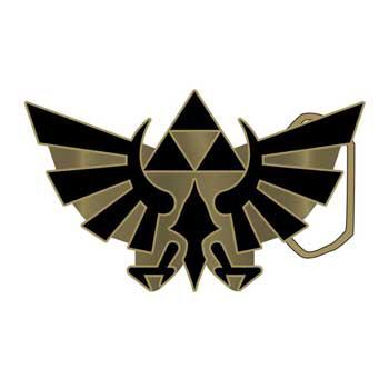 Zelda Gold Logo Buckle
