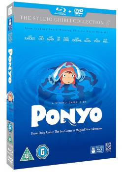 Ponyo Blu-Ray UK