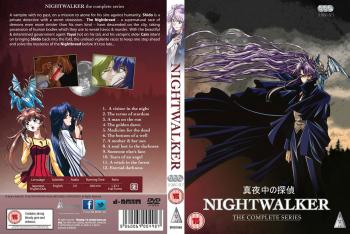 Nightwalker Collection DVD UK