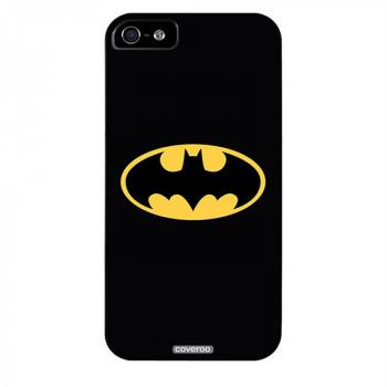 BATMAN SYMBOL IPHONE 5 SNAP CASE BLACK
