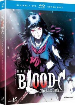 Blood-C The Last Dark Blu-Ray/DVD Combo