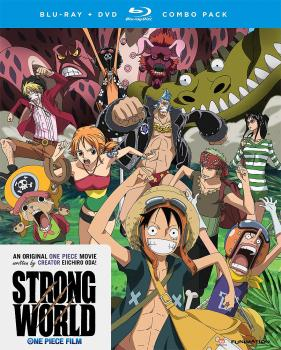 One Piece Movie 10 Strong World Blu-Ray/DVD Combo