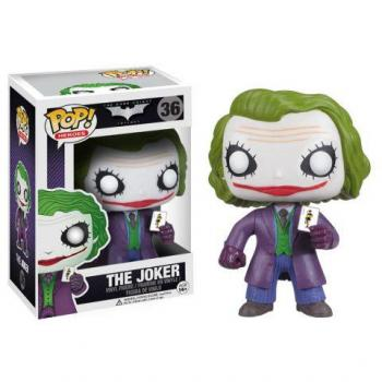 DC COMICS POP VINYL FIGURE - THE JOKER (DARK KNIGHT)