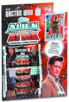 DOCTOR WHO ALIEN ATTAX TCG STARTER PK