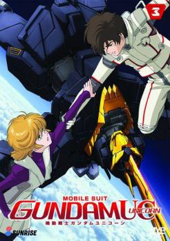 Gundam Unicorn Part 03 DVD