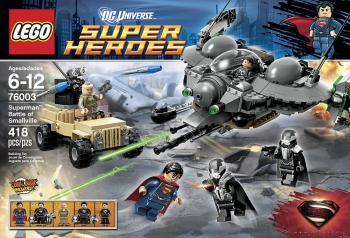 LEGO Superman Man of Steel 76003 Battle of Smallville