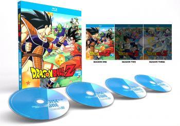 Dragon Ball Z Season 01 - Saiyan Saga Blu-Ray