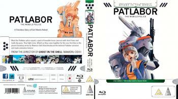 Mobile Police Patlabor OVA Series 01 Collection Blu-Ray