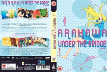 Arakawa under the bridge collection DVD UK