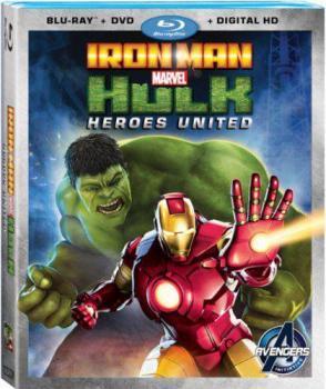 Marvel Iron Man & Hulk - Heroes Unite (Blu-Ray/DVD Combo)