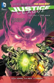 JUSTICE LEAGUE VOL. 04: THE GRID (N52) (HARDCOVER)