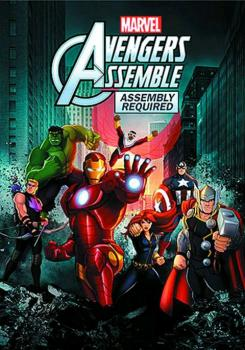 Marvel's Avengers Assembly Required DVD