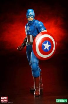 MARVEL COMICS ARTFX+ PVC STATUE 1/10 CAPTAIN AMERICA (AVENGERS NOW) 19 CM