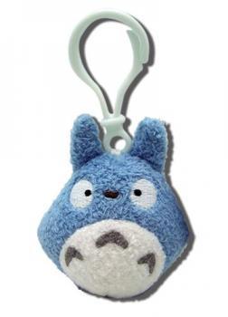 My Neighbor Totoro Backpack Clip Plush - BLUE
