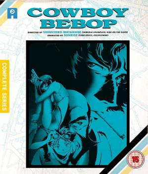 Cowboy Bebop Complete Collection Blu-Ray UK