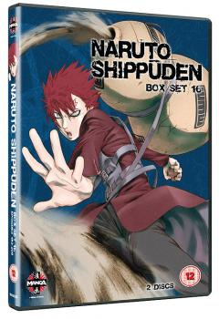 Naruto Shippuden TV box set vol 16 DVD UK