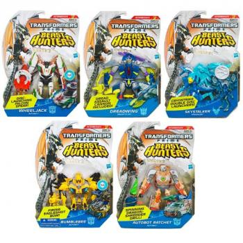 Transformers Prime 2013 Beast hunter Deluxe Action Figure Wave 03 - Skystalker
