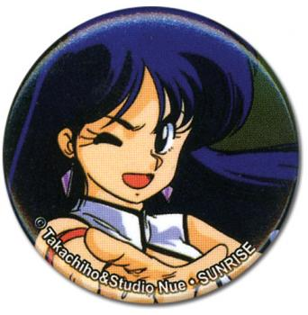 Dirty Pair Button - Yuri Original 1.25''