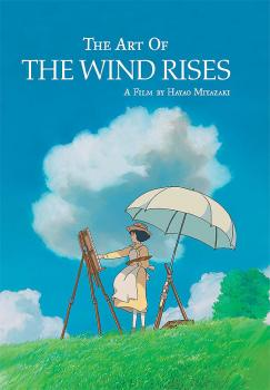 Art of the Wind Rise Illustration book HC