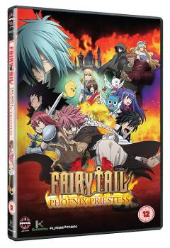 Fairy Tail Movie Phoenix Priestess DVD UK