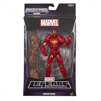 MARVEL LEGENDS 15CM ACTION FIGURE - GUARDIANS OF THE GALAXY - IRON MAN