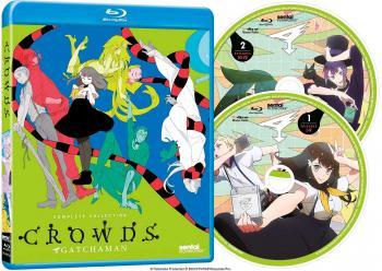 Gatchaman Crowds Season 01 Complete Collection Blu-Ray