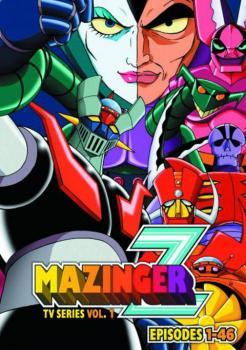 Mazinger Z TV Series vol 01 DVD Box Set