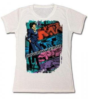 Cowboy Bebop T-Shirt - Spike Dye Sublimation (Women XL)