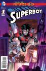 SUPERBOY FUTURES END #1 (3D COVER)