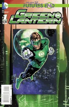 GREEN LANTERN FUTURES END #1 (3D COVER)