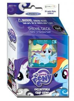 My Little Pony CCG - Theme Deck Rainbow Dash & Rarity