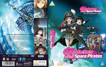 Bodacious Space Pirates Complete Collection DVD UK