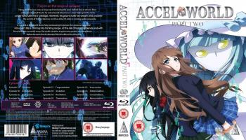 Accel world Part 02 Blu-Ray UK