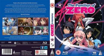 Familiar of Zero Season 01 Complete Collection Blu-Ray UK