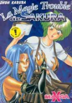 Manga X nr 4: La magie trouble de Sakura
