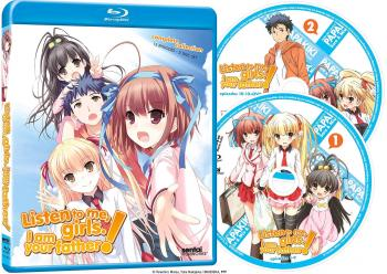 Listen to Me, Girls. I Am Your Father! Complete Collection Blu-Ray