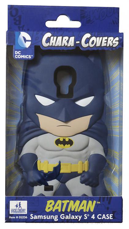 DC COMICS CHARA COVERS SAMSUNG GALAXY S4 CASE - BATMAN
