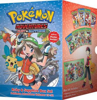 Pokemon Adventures manga Box set vol 03 GN